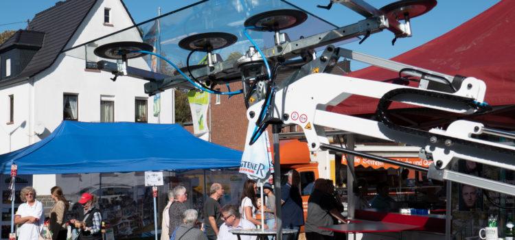Gelungener 4. Regionalmarkt in Flammersfeld mit Biergarten-Atmosphäre