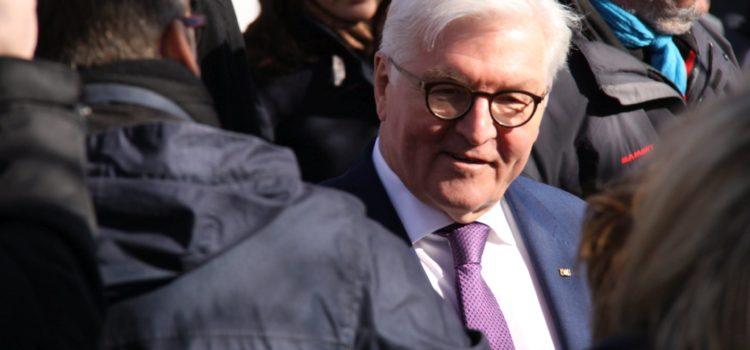 Leistungsgemeinschaft bewirtet Empfang im Bürgerhaus während des Besuchs von Bundespräsident Steinmeier