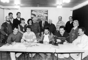 Foto der Gründungsversammlung der LG Flammersfeld